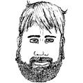 Bearded Man by Karl Addison