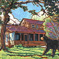 Bears At Barton Cabin by Nadi Spencer