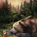 Bear's Eye View by Carol Cavalaris