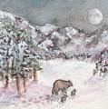 Bears In Winter by Jennie Hallbrown