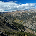 Beartooth Mountain Vista by Larry Ricker
