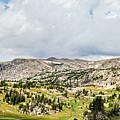 Beartooth Mountains Panorama by Karen Jorstad