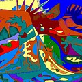 Beast In Colorful Coat by Beebe  Barksdale-Bruner