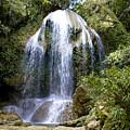Beatifull Cuban Waterfall by Gerth Jan Helmes