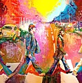 Beatles Abbey Road  by Leland Castro