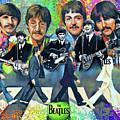 Beatles Fan Art by Dave Luebbert