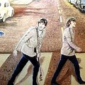Beatles Other Abbey Road  by Leland Castro