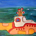 Beatles Yellow Submarine   by Elizabeth Arthur