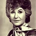 Beatrice Arthur, Vintage Actress by John Springfield