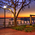 Beaufort Waterfront by Ches Black