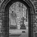 Beauly Priory Arch by Teresa Wilson