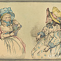 Beauties by Thomas Rowlandson