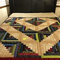 Beautiful Amish Quilt by Christine Clark