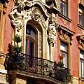 Beautiful Balcony In Austria by Mariola Bitner