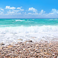 Beautiful Beach Panoramic Landscape by Anna Om