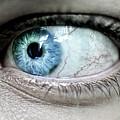 Beautiful Blue Eye by Toula Mavridou-Messer