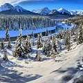 Beautiful Bow Valley by Adam Jewell