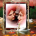 Beautiful Bridal Couple In Love by Clive Littin