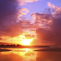 Beautiful Bright Sunset by Vince Cavataio - Printscapes