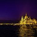 Beautiful Budapest Parliament by Lisa Lemmons-Powers