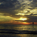 Beautiful Clearwater Sunset by D Hackett
