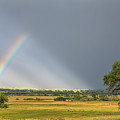Beautiful Countryside Rainbow by James BO Insogna