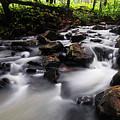 Beautiful Creek In Western Ghats Region Of Karnataka State India by Vishwanath Bhat