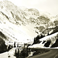 Beautiful Curving Drive Through The Mountains by Marilyn Hunt