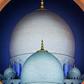 Beautiful Detail At Mosque, Abu Dhabi, United Arab Emirates by Marek Kijevsky