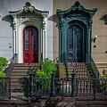 Beautiful Doors On Bull Street by Dale Powell