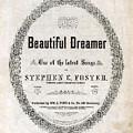 Beautiful Dreamer, By Stephen Foster by Everett