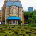 Beautiful Garden At France Pavilion by Lingfai Leung