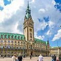 Beautiful Hamburg Town Hall by JR Photography