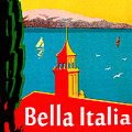 Beautiful Italy, Lake Garda, Riviera by Long Shot