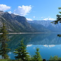 Beautiful Lake Minnewanka by Christiane Schulze Art And Photography
