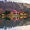 Beautiful Landscape Near Lake Lure North Carolina by Alex Grichenko