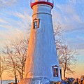 Beautiful Marblehead Lighthouse by Dan Sproul