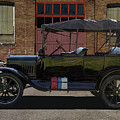 Beautiful Model T Touring Car by Nick Gray