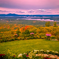 Beautiful Overview Of New Hampshire by Claudia M Photography