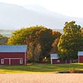 Beautiful Red Barn 3 by Jeelan Clark