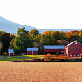Beautiful Red Barn 4 by Jeelan Clark