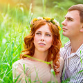 Beautiful Romantic Couple by Anna Om