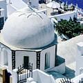 Beautiful Santorini by Julie Palencia