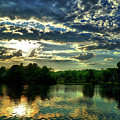 Beautiful Scene Before Sunset by Lilia D