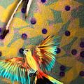 Beautiful Scissor-tailed Flycatchers by Iowan Stone-Flowers
