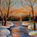 Beautiful  Spring Thaw by Carole Spandau