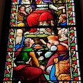 Beautiful Stained Glass At Emmanuel Church Baltimore # 5 by Poet's Eye