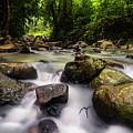 Beautiful Stream In Western Ghats Region Of Karnataka India by Vishwanath Bhat