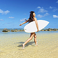 Beautiful Surfer Girl by Kicka Witte