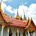 Beautiful Temple by Somchai Suppalertporn
